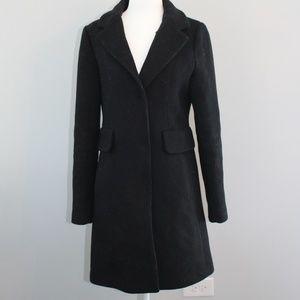Black Kate Spade Pea Coat (XS)